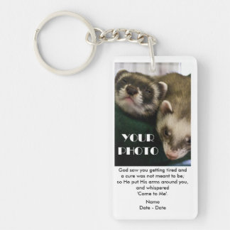 Come To Me Pet Memorial Keychain