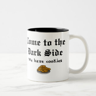 Comedy Mug, Come to the Dark Side Two-Tone Coffee Mug
