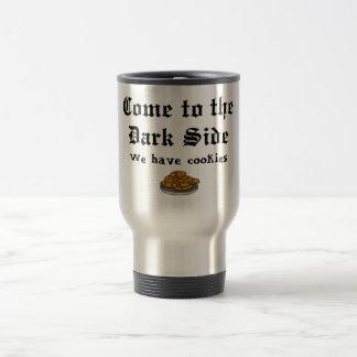 Comedy Shirt, Come to the Dark Side Travel Mug