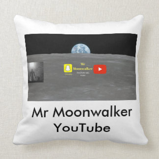 Comfy Thrower pillow| Mr Moonwalker Range Throw Pillow