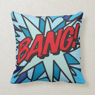 Comic Book BANG! KA-POW! Cushion