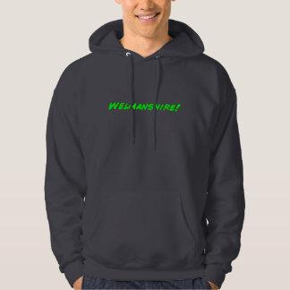 Comic book hoodie
