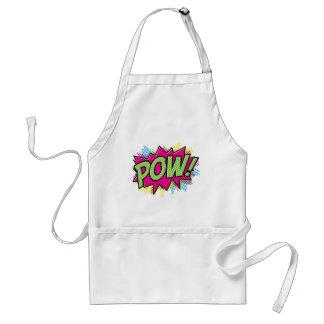 Comic Book Pow! Art Design Standard Apron