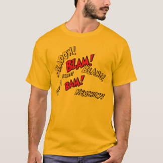Comic Book Sounds T-Shirt