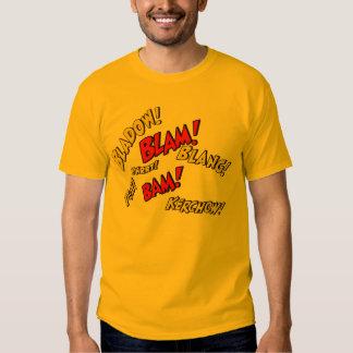 Comic Book Sounds T-shirts