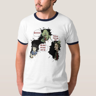 Comic-book style T-Shirt