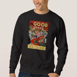 Comic Book Utopia AGC Black Retro Sweatshirt