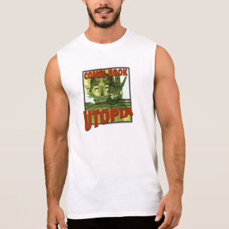 Comic Book Utopia muscle tee