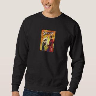 Comic Book Utopia SRA Black Retro Sweatshirt