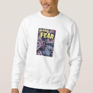 Comic Book Utopia WF White Retro Sweatshirt