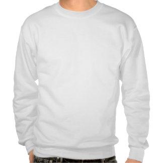 Comic Book Utopia White Retro Two Sweatshirt