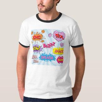 Comic Style Girly Super Hero Design T Shirts