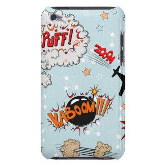 Comic Style Super Hero Design Case-Mate iPod Touch Case