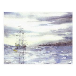 'Coming Home' Postcard