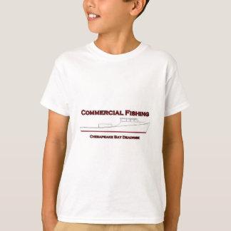 Commercial Fishing Chesapeake Bay Deadrise Boat T-Shirt