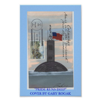 COMMISSIONING USS COLUMBUS POSTER