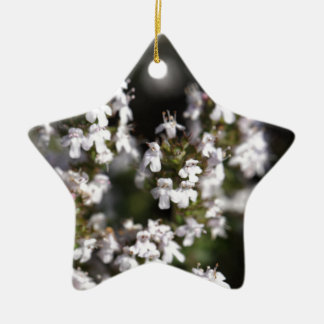 Common thyme christmas ornament