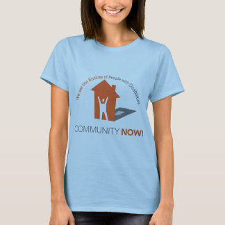 Community Now! Ladies T-Shirt