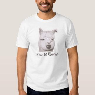 Como se llama? t shirt