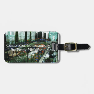 Como Zoo Conservatory - St Paul MN Luggage Tag