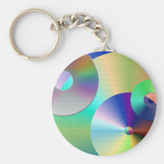 Compact Discs Key Ring