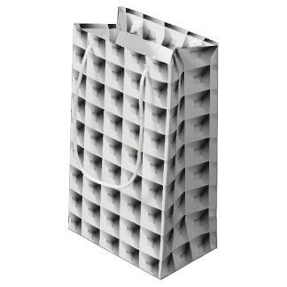 compartment design in Grey... Small Gift Bag
