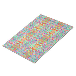 Compass Fractal Multi-colour Note Pad Large