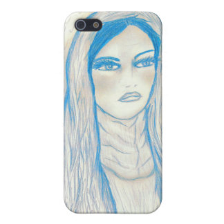 Compassionate Mary - Blue Tones Case For The iPhone 5