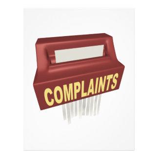 Complaint Box 21.5 Cm X 28 Cm Flyer