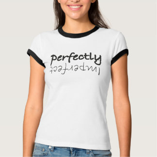 Completely imperfect shirt black blank