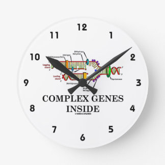 Complex Genes Inside (DNA Replication) Round Clock