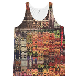 complicated abstract by rafi talby All-Over print singlet