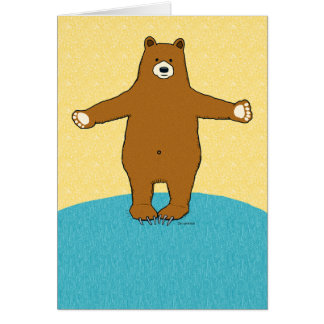 Complimentary Bear Hug Birthday Card