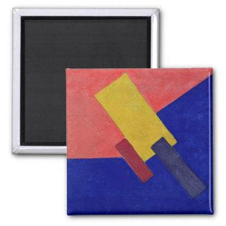 Composition, 1918 square magnet