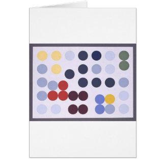 Composition dans un cercle by Sophie Taeuber-Arp Card