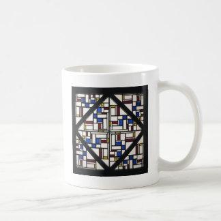 Composition with window with coloured glass III Coffee Mug
