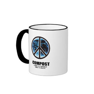COMPOST- A RIND IS A TERRIBLE THING TO WASTE RINGER MUG
