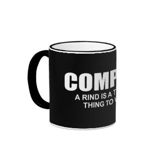 Compost: A rind is a terrible thing to waste Ringer Mug