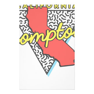 Compton California Retro Souvenir Stationery