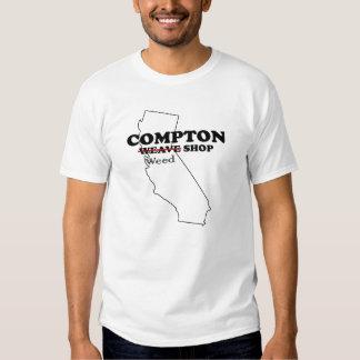 Compton Weave Weed Shop Tees