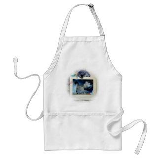 computer cats standard apron