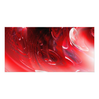 Computer Digital Abstract Personalized Photo Card