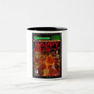 Computer Game Fan Birthday Two-Tone Coffee Mug