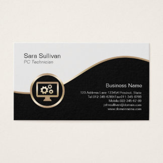76 seo consultant business cards and seo consultant business card computer gears icon pc technician business card colourmoves Images