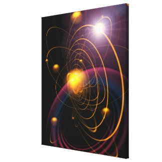 Computer illustration technique 2 gallery wrapped canvas