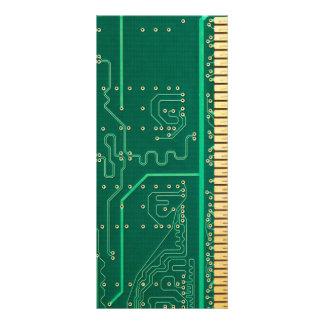 Computer memory plate custom rack cards