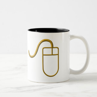 Computer Mouse Two-Tone Coffee Mug