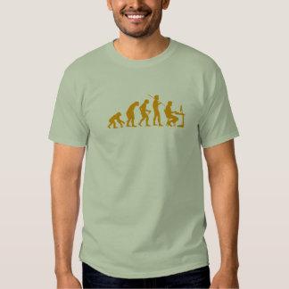 Computer programming evolution t-shirts