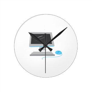 Computer Round Clock