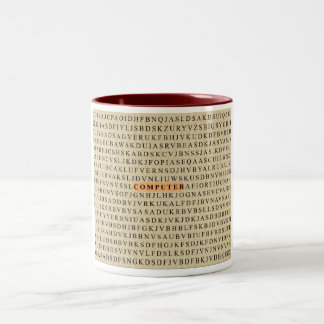 Computer Two-Tone Coffee Mug